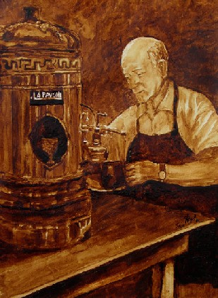 Coffee Lovers: Wake to A Gourmet Cup of Steaming Java AND Your Favorite Coffee Art Paintings